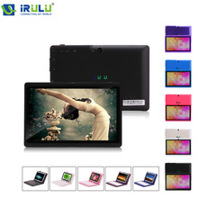 iRULU eXpro X1a 7'' Tablet PC Android 4.4 16GB ROM Quad Core 1024*600 HD Dual Cameras Support OTG WIFI Tablet w/Keyboard New Hot(China (Mainland))