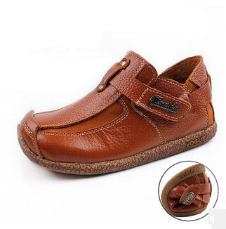 Гаджет  2014 new fashion autumn children shoes Bear Genuine leather boys shoes the student