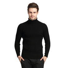 New Fashion Turtleneck Blusas Masculina Slim Fit Long Sleeve Soild Men Sweater Wool Comfortable Casual Mens Sweaters SY069(China (Mainland))