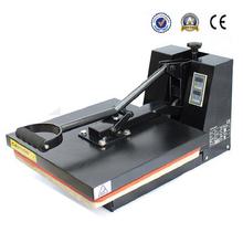 Manually Garment Printing Machine Ordinary Transfer Flat Heat Press Machine 38x38CM(China (Mainland))