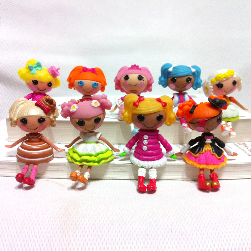 1pc 3inch MGA Lalaloopsy dolls accessories Mini Dolls For Girl's Toy PlayHouse Each Unique(China (Mainland))