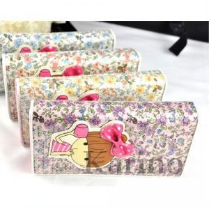Free Shipping Wholesale NEW Pretty Purse Wallet, Bank Card Credit Card Holder,10pcs/lot
