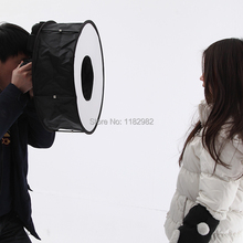 Ring Speedlight Softbox Flash Diffusers  + Carrying Bag  for Canon for Nikon for Sony YongNuo