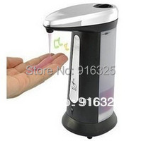 1pcs For Bathroom Worldwide FreeShipping Touchless Automatic Infrared Sensor Handfree liquid Soap Sanitizer Dispenser