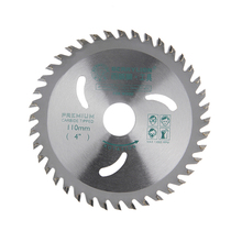 Buy 4''/110mm Alloy Steel Circular Saw Blade 30 Teeth/40 Teeth Wheel Discs Cutting Wood Aluminum Iron Plate Power Tools for $6.22 in AliExpress store
