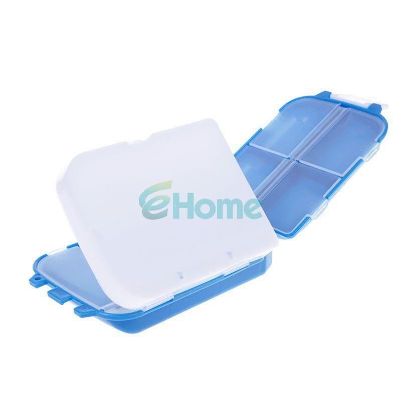 Portable Mini Sort Folding Vitamin Medicine Drug Container Pill Box Storage Case 57604