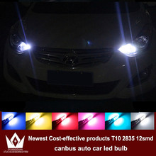 Night Lord 4x LED CANBUS Samsung T10 2835 Clearance Lights For hyundai solaris accent i30 elantra ix35 i20 santa fe sonata (China (Mainland))
