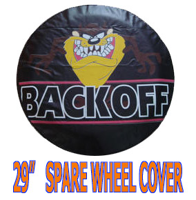 """Accessories 15"""" FIT FOR TOYOTA SUZUKI FORD JEEP SPARE TIRE WHEEL TYRE COVER BLACK PU LEATHER CY2515(China (Mainland))"""