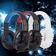 Hot Sale Cool Gaming Headset Surround Stereo Headband Headphone 3.5mm with Mic for PC Newest(China (Mainland))