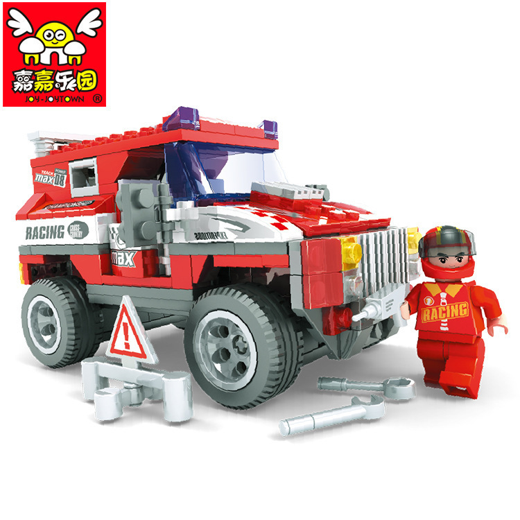 Racing SUV car educational toys 2015 building blocks set Compatible with Lego children's toys gift speed Racer 003047(China (Mainland))