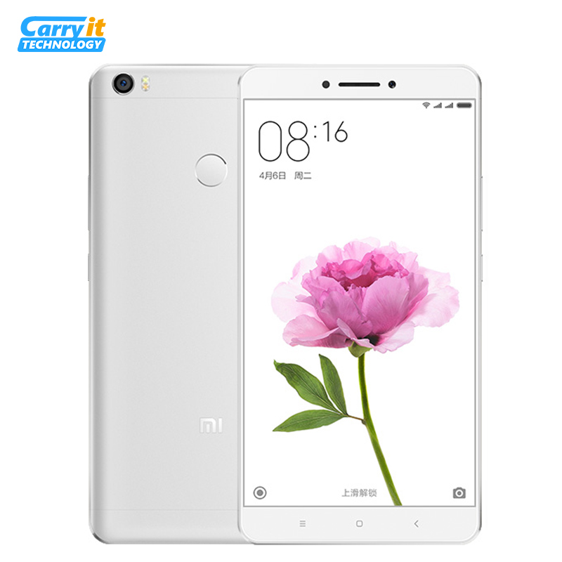 "Original Xiaomi Mi MAX Pro Prime 4GB 128GB 6.44"" 4850mAh Snapdragon 652 Octa Core SmartPhone Android google play Fingerprint ID(China (Mainland))"