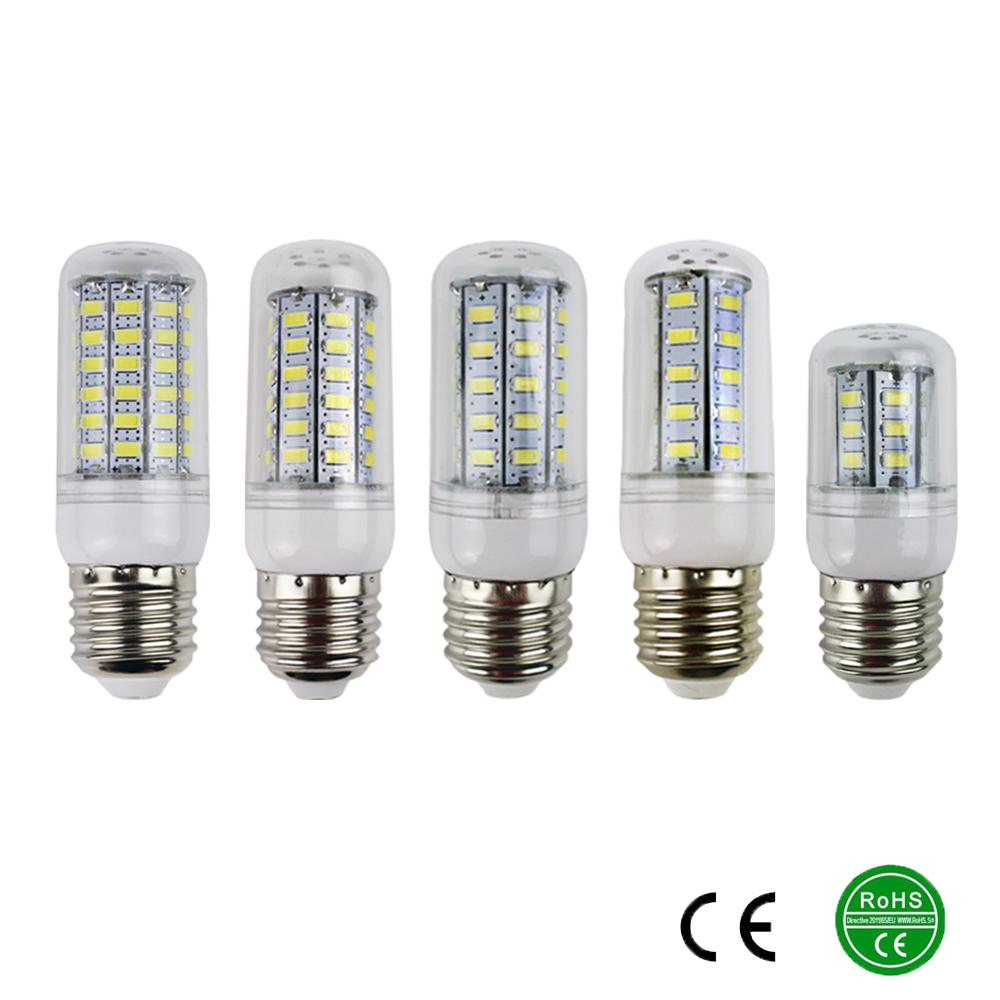 E27 5730 Led Lamps 220V 230V 240V 7W 12W 15W 18W 20W LED Lights Corn Led Bulb Christmas Chandelier Candle Lighting 360 degree<br><br>Aliexpress