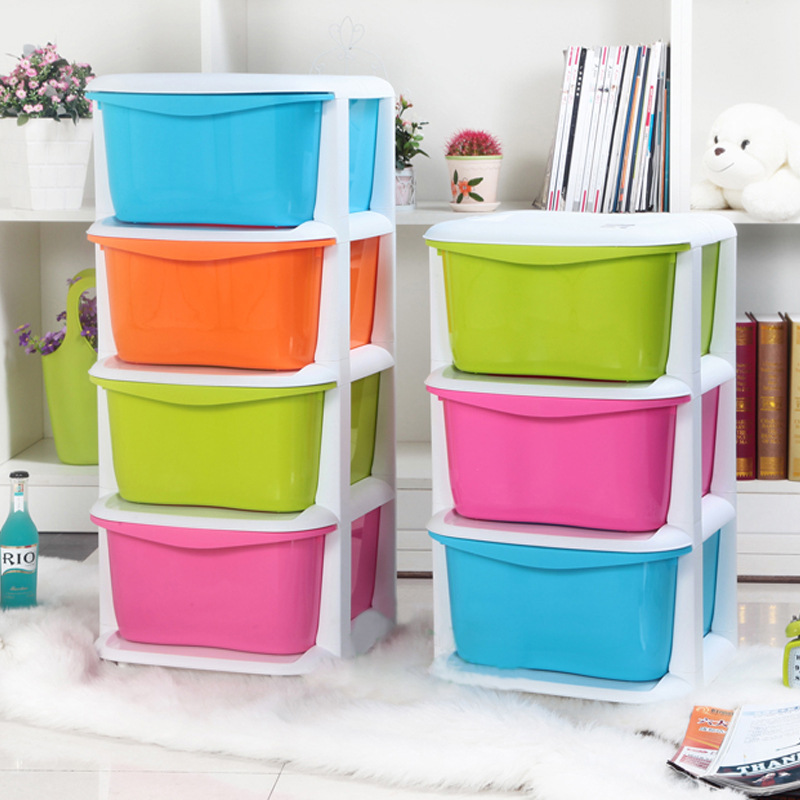 Canvas Clothing Storage Box Toys Clothes Storage Box