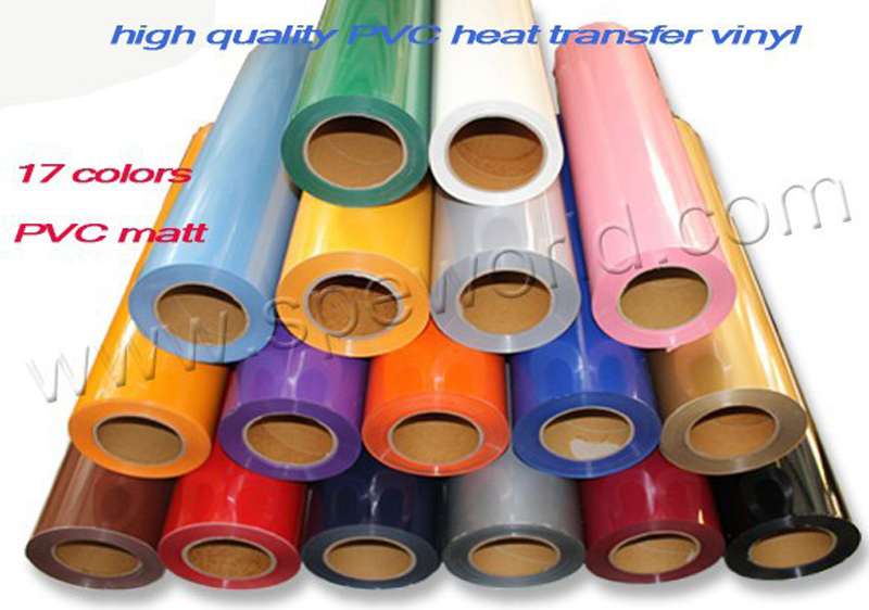 50cm*100cm PVC Vinyl from Korea, PVC heat transfer film for garment color(China (Mainland))