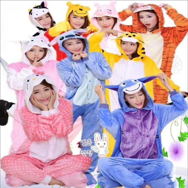 Домашняя пижама в виде животных из аниме-мультфильмов. Размеры XL-S Высота 150-190 ...