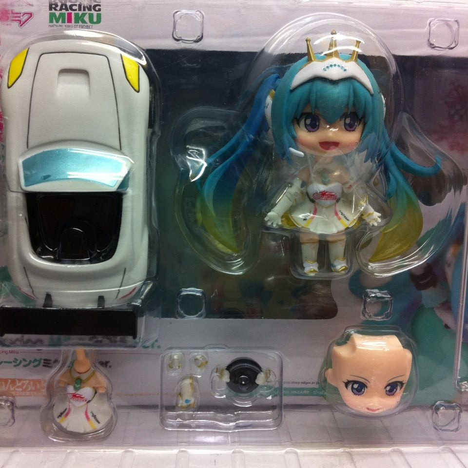 10cm Q version Japanese anime figma figure hatsune miku action figure Racing Miku Collection Model Kids Toy Doll for girl<br><br>Aliexpress