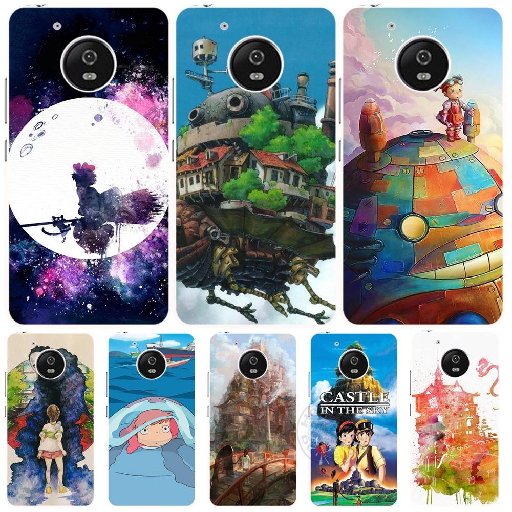 Howl's Moving Castle cell phone case cover Motorola Moto G5 G4 X+1 PLAY PLUS ONE style  -  ShenZhen DYT Co.,Ltd store
