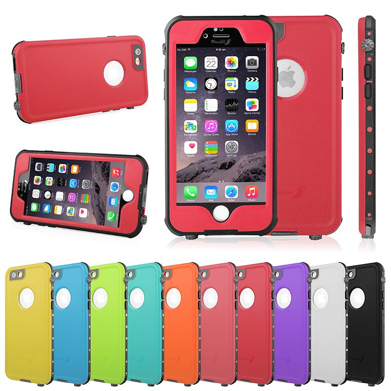 For iPhone 6s /6s Plus Waterproof Shockproof Dirt Snow Proof Phone Case Durable Full Body Protection Anti-scratch Cover(China (Mainland))