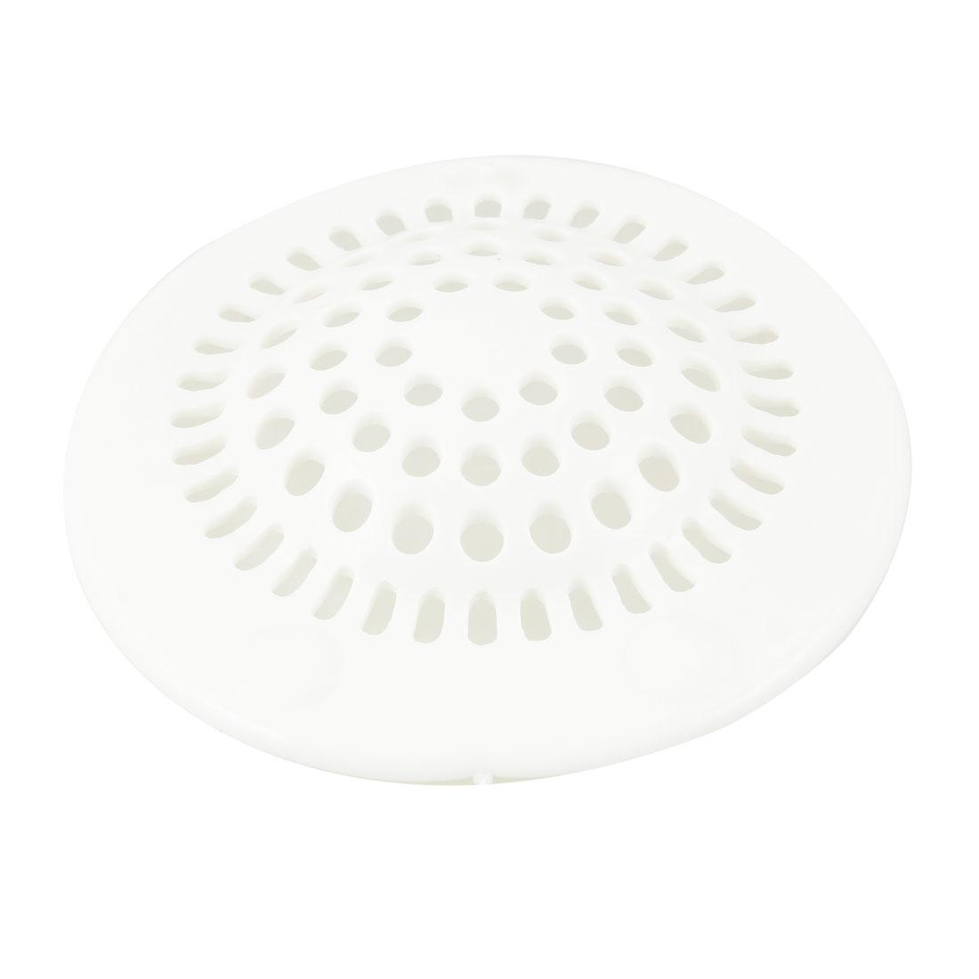 Bathroom 3.9 Sink Floor Drain Screen Hair Filtering Sticker White<br><br>Aliexpress