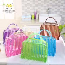 Hot Fashion Portable Women Makeup Bag Makeup Cosmetic Toiletry Travel Wash Toothbrush Pouch Organizer Bag Tools