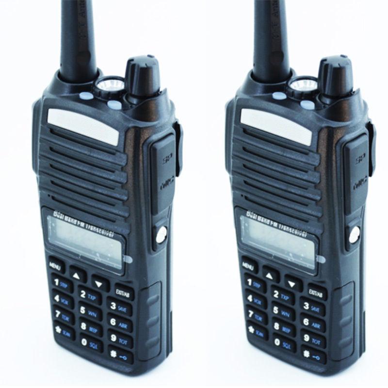 BAOFENG UV-82 Dual Band UHF/VHF Walkie Talkie 2 Way FM Ham Radio + PTT Earpiece(China (Mainland))