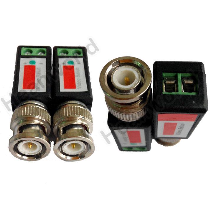 UTP,cctv BNC video Balun cctv camera Transceivers CCTV spare parts video balum for camera and DVR(China (Mainland))
