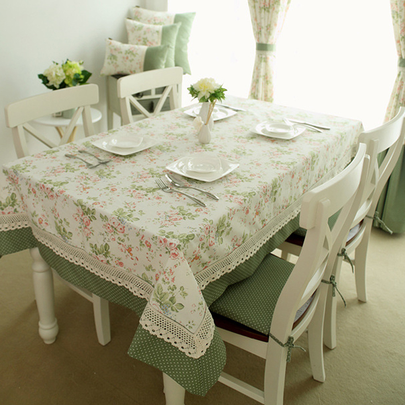 elegant home textile tablecloth lace table cloth knitted