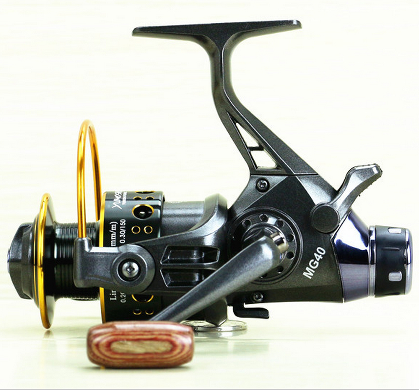 NEW HOT SALES M0G6 FOR BIG FISH Ocean fresh saltwater ICE FLY CARP wheel spinning reel 11 Ball Bearings dual line control gaples(China (Mainland))