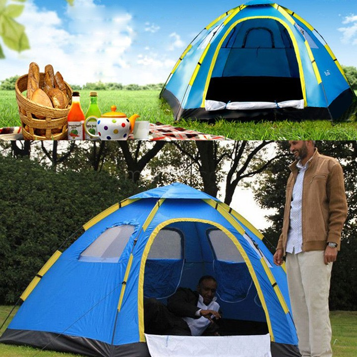 Best Quality Outdoor Large Hiking Camping Rain-resistant Automatic Instant Pop up Family Tent High Strength & Lightweight 36(China (Mainland))