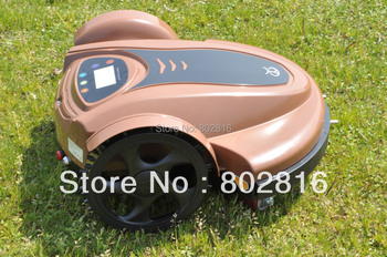 Free Shipping 2015 Newest With Password,Time Setting,Language and Subarea Setting Function Robot Lawn Mower(Lead-acid Battery)