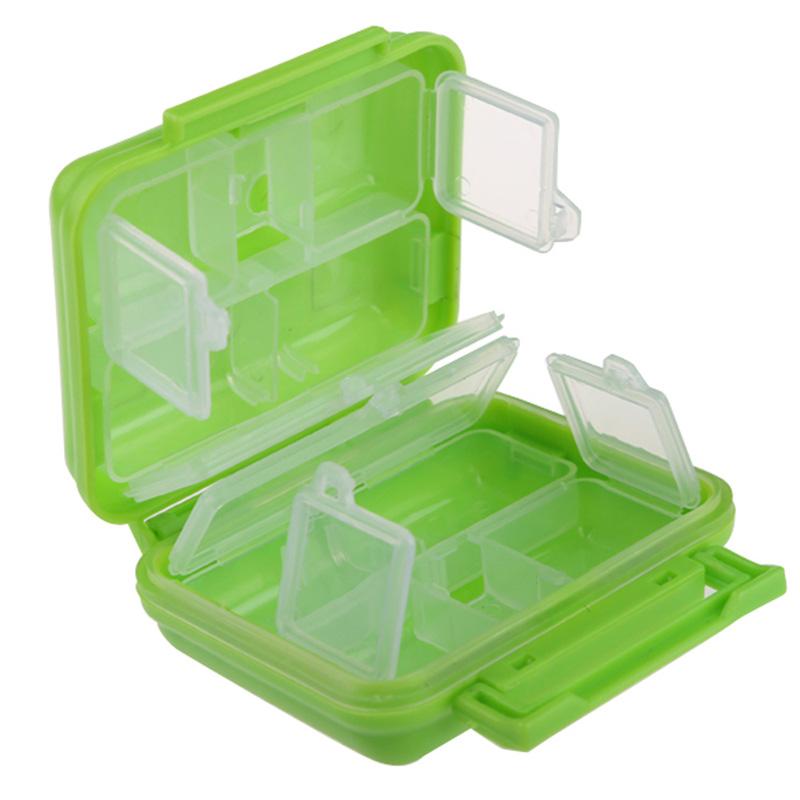 Hot Selling 1 Pcs Portable 8 Cells Pocket Pill Medicine Box Storage Case Organizer Factory Price Free Shipping MTY3(China (Mainland))