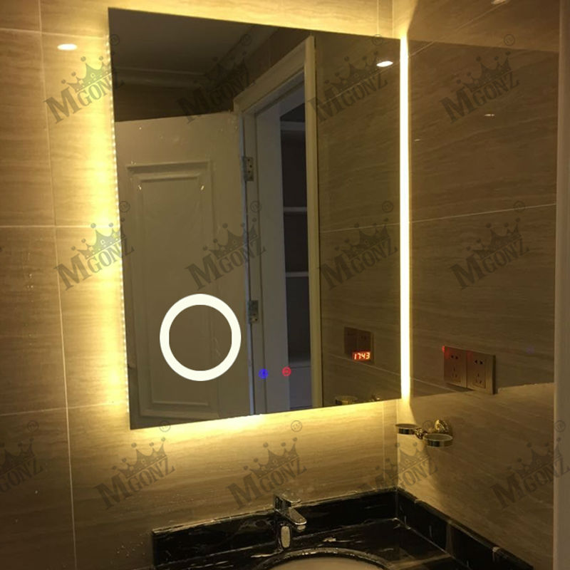 Anti fog mirrors for bathroom