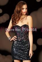 New Designer Classy Hot Sale Beautiful Sexy Lady Gorgeous Short Mini Bling Luxury Fashion Unique Elegant Prom Dresses