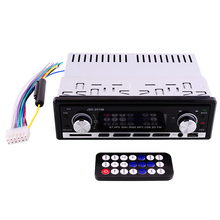 Bluetooth Car Auto Stereo Audio Radio Aux Input FM Receiver SD USB MP3 WMA WAV Remote Control Player