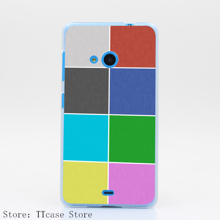 888CA Dan and Phil Bedding fashion Hard Transparent Clear Case for Microsoft Nokia Lumia 535 630 640 640XL 730 Cover(China (Mainland))