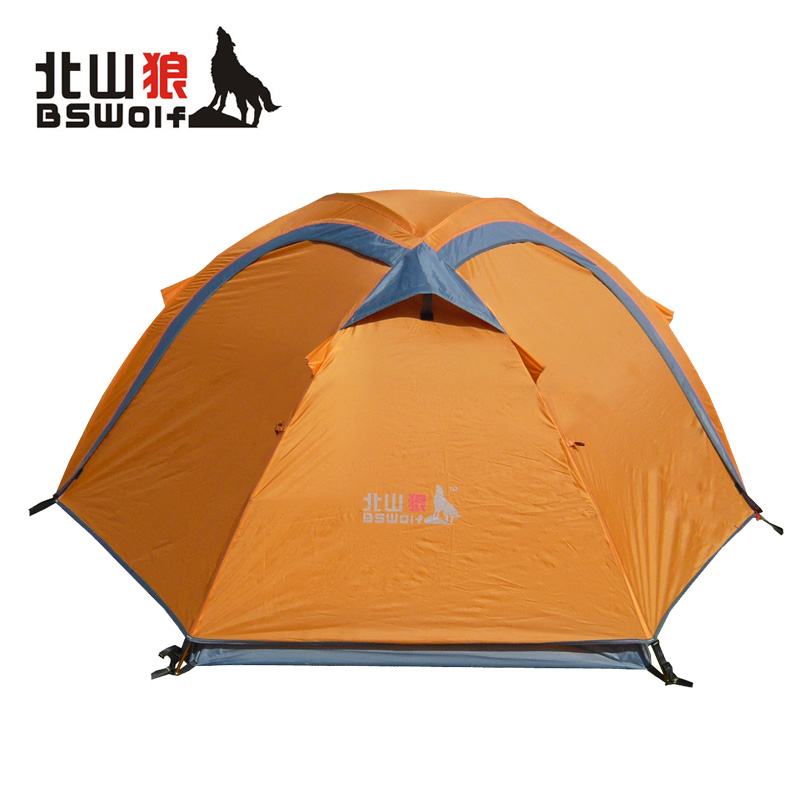 Tent double layer double pole tent outdoor camping outdoor tent zl005