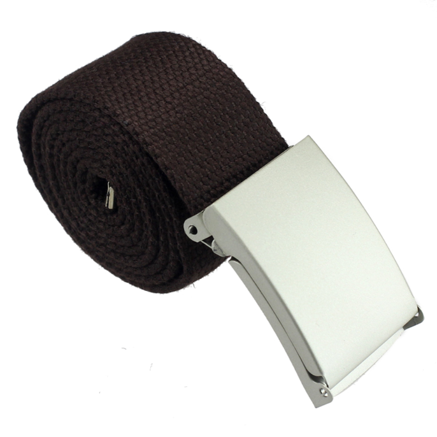 Hot sale!!!2016 new arrival designer High quality Luxury New Practical Mens Black Military Canvas Webbing Web Belt Metal Buckle(China (Mainland))