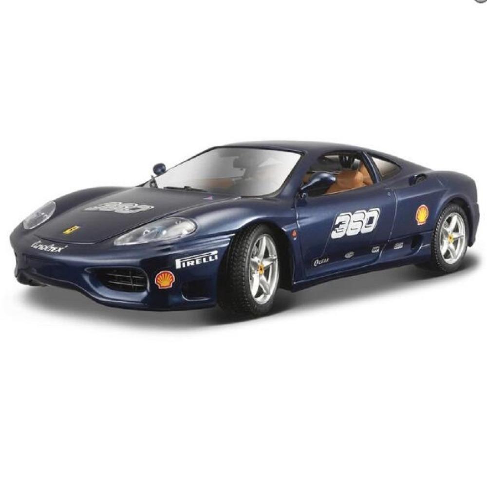 Maisto Bburago 1:24 360 CHALLENGE Diecast Model Car Toy New In Box Free Shipping(China (Mainland))