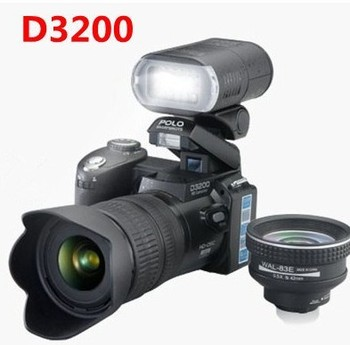 21 x optical zoom 16 million pixels 3.0 D3200 digital camera MP3 TV recorded straight dual power, giving the original battery