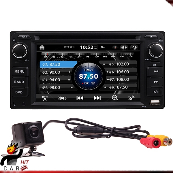 2Din font b Car b font Dash DVD Player font b GPS b font Radio BT