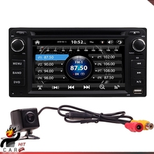 2Din Car Dash DVD Player GPS Radio BT Stereos with Parking Camera for Toyota Daihatsu LAND CRUISER HILUX YARIS VIOS HIGHLANDER