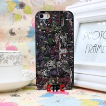 Neon Genesis Evangelion Design Hard Black Skin for iPhone 5 5s 5g Case Cover