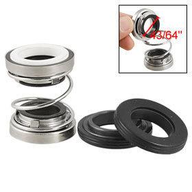 "2 Pcs Water Pump Shaft Helical Spring 43/64"" Internal Dia Mechanical Seal Free shipping"