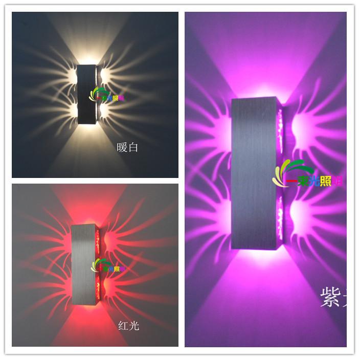 85 265v 2w led lighting indoor wall ktv decorate lights. Black Bedroom Furniture Sets. Home Design Ideas