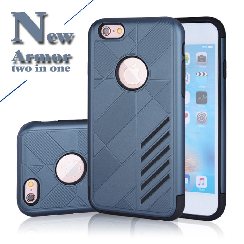 Rinmes Pro Steel 4 Useful Case 2 in 1 Case TPU+PC Good protector Mobile Phone Case & Heavy Dust Cover Case For iPhone 6/6s(China (Mainland))