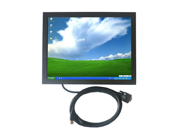 1024X768 resolution of 15 inch open frame touch monitor with 5 Wire resistive touch for gaming and kiosk euipments(China (Mainland))