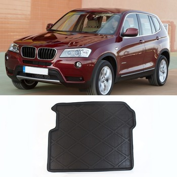 3D Waterproof All Weather Cargo Truck Mat Carpet Rear Liner Protector For BMW X3 Before 2015