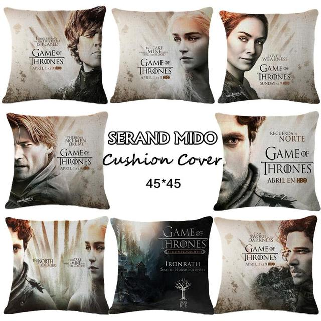Game of Thrones Stars Pillow Case
