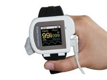 Бесплатная доставка CMS 50IW CE FDA наручные Bluetooth пульсоксиметр исследования сна USB программное обеспечение беспроводная связь Bluetooth