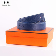 Brand Belt with box cintos masculino Fashion Strap Male Genuine Leather Belts for Men Jeans ceinture homme marque(China (Mainland))